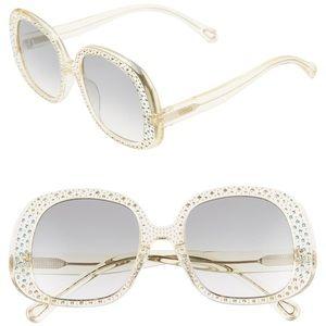 Chloe Chiara 54mm Sunglasses